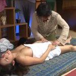 タイ古式マッサージで言葉のよく分らない施術師にセクハラされて無断で中出しされる美人妻!