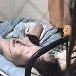【オナニー盗撮動画】カーテン開けっぱのベランダを覗くと全裸お姉さんが激し過ぎる自慰行為