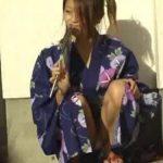 【パンチラ盗撮動画】浴衣姿の娘はパンチラの格好の的!ほとんどノーガード!