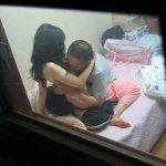 【セックス盗撮動画】向かいのアパートに住む同棲カップルが毎晩SEXしててオカズに困らないw