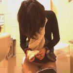 【女子トイレ盗撮動画】潔癖症そうなスレンダー女性のトイレ内一部始終を隠し撮り!