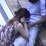 【SEX盗撮動画】人が来ない場所でいちゃつくJKカップルや屋上でフェラするカップル映像!