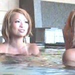【女子風呂盗撮動画】何度も見てしまう抜群のスレンダー肉体美を誇るピチピチ美ギャル集団の全裸入浴模様w
