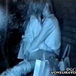 【SEX盗撮動画】深夜の公園ベンチで彼氏に跨って腰の動きが非常に有能なギャルとの青姦セックスは羨ましいw