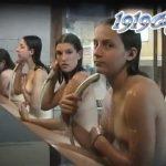 【女子風呂盗撮動画】完璧な和洋折衷を表現した奇跡的お宝映像!北欧系の全裸美少女団を日本の銭湯で隠撮w