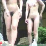 【女風呂盗撮動画】山奥にある景色が良くて人気の温泉で開放的な全裸姿を晒してる素人一般人の女性達多数w