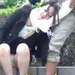 【泥酔ギャル盗撮動画】酒に飲まれて酷い醜態を晒した制服OLさん!映像で撮られて拡散されて人生オワコンww