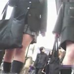 【パンチラ盗撮動画】こんな人通りの多い商店街で鬼畜にも若い娘のパンティを撮影しまくる勇者の栄光の奇跡w