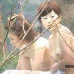 【女子風呂盗撮動画】美人OLがくつろぎの時間を過ごす野外露天風呂で裸体を撮影する撮り師が投稿したw