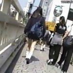 【パンチラ盗撮動画】若い娘のパンティが大好物な変質者が女子高生を尾行撮影する投稿映像が鬼畜w