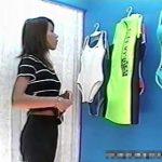 【盗撮動画】マン毛の長さには定評のある美人モデルのスレンダーギャルの着替え中に全裸無断収録w