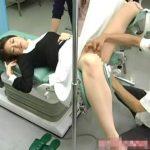 【盗撮動画】「たぶん、大丈夫だと思いますよ」産婦人科医が美人妻の子宮を覗き込み終いには中出し!