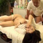 【SEX盗撮動画】激カワ女教師がマッサージ師に騙されて犯されているのに腰を動かして絶頂してるw