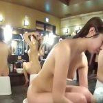 【盗撮動画】女子風呂潜入リアル映像!裸の女性達をじっくりと堪能できる洗い場はオカズの宝庫でしたw