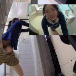 【HD盗撮動画】危険映像!公衆トイレで毛も生えていない女の子を狙った押し込みレイプ姦被害が続発!