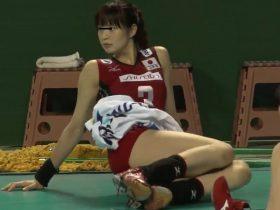 【隠し撮り動画】全日本女子バレーボール選手の姫達のウォーミングアップが興奮を掻き立てる証拠映像w