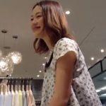 【盗撮動画】美人オーラの格が違う!まさしく最高レベルのショップ店員のパンチラを逆さ&正面撮りで攻略!