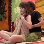 【盗撮動画】タイ式古式マッサージ店でスレンダー美人妻が中出しSEXで寝取られる事件が映像で発覚!