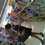 【盗撮動画】スミマセン、ガチ本物です!スーパーで買い物する人妻や制服OLのパンチラを逆さ撮りしてる!