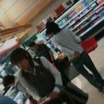 【盗撮動画】夕時のスーパーが恰好のパンチラ狩りスポット!人妻熟女や制服OLのスカート内を撮り放題w