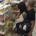 【盗撮動画】観覧注意!某コンビニ店内で美少女JKをレイプする凶悪犯の姿が防犯カメラに●映りしていた!