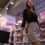 【盗撮動画】フェロモン漂わせながらお買い物中の美人お姉様に的確に粘着してパンチラを撮影したオレの作品www