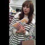 【盗撮動画】お買い物中にパンティを高画質鮮明カメラで撮影された綺麗なハーフ顔美人妻さんがコチラですww