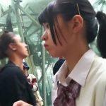 【HD盗撮動画】こんな可愛らしいお嬢ちゃんな制服女子高生を尾行してスカート捲りパンチラを決める英雄出没www