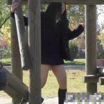 【HD盗撮動画】艶々ぷるぷる!健全に公園デート中の激カワ美少女な女子校生の萌えパンチラを高画質収録www