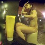 【盗撮動画】激カワギャルの女子風呂映像!下半身を洗うとき立ち上がってマ●コを見せてくれるサービス有りwww