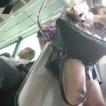 【盗撮動画】電車で発見した可愛い女子校生のパンチラを様々なアングルから捕獲する有能なオレの投稿www