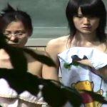 【HD盗撮動画】マニア熱狂!スペシャル貧乳ボディ!お母様とご来場した黒髪美少女の全裸を女子風呂収録!