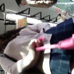 【HD盗撮動画】近過ぎてスミマセン!美少女JKのパンチラを撮りたい願望がカメラを接写させた危険映像www