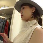 【盗撮動画】逆さHERO!ハットがお洒落な清楚系お姉さまなショップ店員の美女のパンチラをご提供www