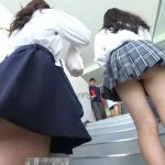 【HD盗撮動画】青春を回帰する!女子校学園祭に潜入!JKのパンチラを見るのには校舎内が最もサイコーwww