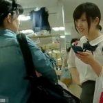 【HD盗撮動画】さすがの「しまむら」で清純美少女の制服女子校生のナプキンはみ出しパンチラGETしたwww