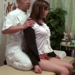 【動画】制服OLの超イイ女を説き伏せて脱がしていき生チチと子宮を弄くるった整体マッサージ師がレイプ挿入!