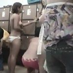 【盗撮動画】人気スパ施設の女脱衣所!若いギャル多数の生々しい着替え映像が突如ネット公開された!