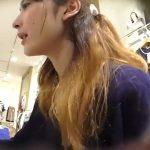 【盗撮動画】逆さHERO!マジ格の違いを見せ付ける美貌の美人ショップ店員のギャルのパンチラGET!