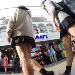 【盗撮動画】ガチ可愛い制服女子校生を尾行してパンチラGET!純白パンティとピチピチの下半身www