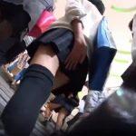 【盗撮動画】新鮮フレッシュその物の制服JK美少女集団を追跡しながら可愛いパンチラを収穫するwww
