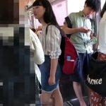 【HD盗撮動画】もしかしたらバージン化も!というくらい清純そうな黒髪お嬢さんのパンチラを公開するwww