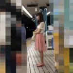 【盗撮動画】か弱そうなお嬢さんが可愛いので見守るかの如く尾行してスカート内からパンチラ撮りまくるwww
