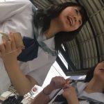 【HD盗撮動画】可愛らしい女子校生達の通学用のバスで毎日のようにパンチラを撮りまくる日々www