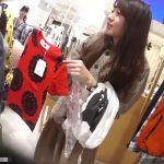 【盗撮動画】我らが逆さHEROパイセンが美人ショップ店員さんのパンチラをまたも攻略して公開した!