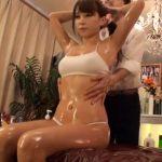 【動画】媚薬入りオイルマッサージの度重なるセクハラ施術に発情モードに入った美人妻が中出しレイプされる!