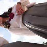 【HD盗撮動画】人気テーマパーク夢の国で可愛い制服女子校生のパンチラを黙々と撮影した映像がヤバい!