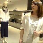 【盗撮動画】逆さHERO!真っ白な尻肉がタマラン!清楚系美人ショップ店員さんのパンチラを真下から攻略!