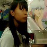 【盗撮動画】ヤバイやつ!中学一年生レベルにアドケナイ制服美少女の清純下半身からパンチラ激写!