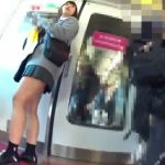 【盗撮動画】ボブヘアーの美少女JKのムッチリ下半身を無断撮影!パンチラを尾行しながら攻略する!